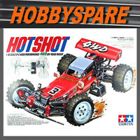 NEW TAMIYA HOTSHOT 1/10 RC 4WD OFFROAD BUGGY KIT 58391 with TBLE02 ESC
