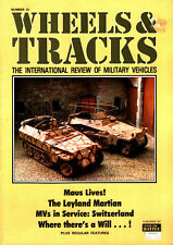 WHEELS & TRACKS 23 WW2 GERMAN PORSCHE 205 MAUS_LEYLAND MARTIAN_SWISS MV_FORD F15