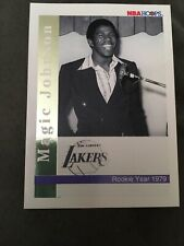 "1992 Magic Johnson Skybox ""Rookie & Retirement"" Commemorative card. No number."
