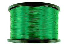 TEMCo Magnet Wire 22 AWG Gauge Enameled Copper 155C 7.5lb 3757ft Coil Green