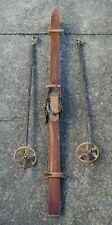 Antike Holzski - SKI -  mit Stöcken vor 1945 - Super Winter Deko (17-20)*