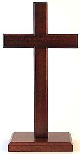Cross 20cm (standing) Square Base