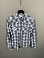 LEVI'S Shirt - Medium - Blue - Check - Great Condition - Men's