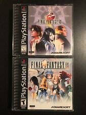 Final Fantasy VIII & IX 8 & 9 PS1/PSX (US NTSC)