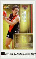 2017 AFL Footy Stars Trading Card Milestones Subset MG22 Mathew Stokes (Ess)