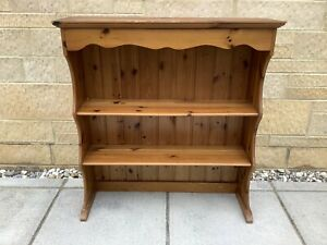 PINE WOODEN DRESSER TOP SHELVES ~ SHABBY CHIC PROJECT