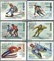 Laos 661-666 (kompl.Ausg.) gestempelt 1983 Olympische Winterspiele 1984