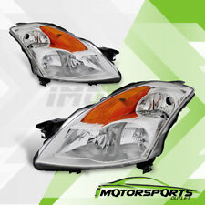 For 2007 2008 2009 Nissan Altima Factory Style Chrome Replacement Headlights Set