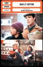 BACH ET BOTTINE - André Mélaçon (Fiche Cinéma) 1987