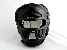 Kopfschutz mit Gitter.Leder. Kampfsport, Budo-Sport, Escrima, Boxen, Muay Thai