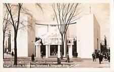 Postcard NY World's Fair 1939 American Telephone Telegraph RPPC