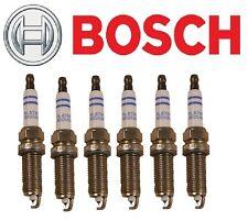 Fits BMW E60 E83 E85 E90 Set of 6 Spark Plugs Bosch FR7NPP332 / 12 12 2 158 253