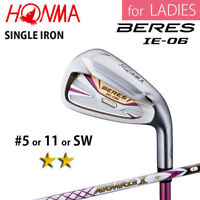 for LADIES 2-STAR HONMA GOLF JAPAN BERES IE-06 SINGLE IRON #5,11 or S ARMRQ 2018