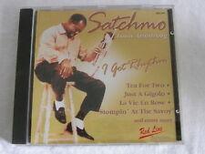 CD chansonnette Louis Armstrong-I got rhythm