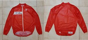 Descente Le Tour De France Cycling Shirt XL Jersey Red Cycle Camiseta Vintage