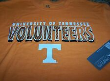 Knights Apparel TENNESSEE VOLUNTEERS S/S Shirt ORANGE/WHITE Men's Med ~ NWT