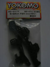 Yokomo SD-017T, Front and Rear Moulded Shock Tower, Graupner YSD.017T, BNIP