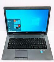 HP ZBook 17 G2 I7-4930MX Extreme 3GHz 32GB RAM 250GB SSD 750GB HDD  K3100M  W10