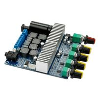 TPA3116D2 Bluetooth 4.2 Digital 2.1 Amplifier Board DC 12-24V 100W+50W+50W tzt*