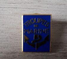 PINS BADGE COLLECTION MILITAIRE - TROUPES DE MARINE