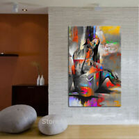 CHENPAT703 100% hand paint abstract nude girl oil painting wall art on canvas
