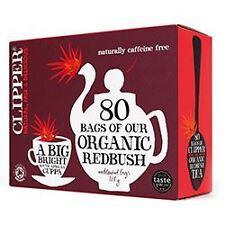 Clipper Tea Bags Organic Infusion Everyday Redbush 80 Bags