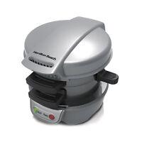 Hamilton Beach Breakfast Sandwich Maker Kitchen Counter Top Press | 25475