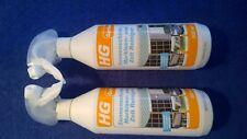 2 HG Sonnenschirm- Markisen- Planen- und Zelt-Reiniger HG 0,5 L