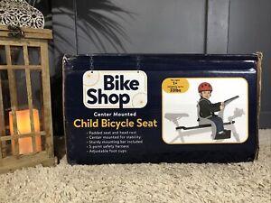 NIB! Bike Shop Child Bicycle Seat Center Mount KIDS BIKE RIDE, SEAT CA1