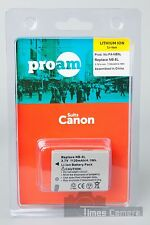 ProAm PA-NB5L NB-5L Battery for Canon PowerShot SD900, 950, 970, 990 & SX200 IS