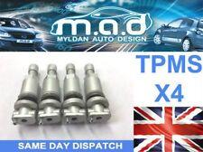 4x PEUGEOT Sensor Presión Neumático Válvula Kit de reparación 207 307 407 508