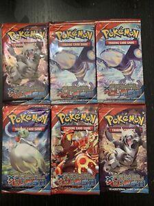 Pokemon TCG Primal Clash 6 Booster Packs