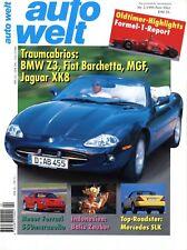 Auto Welt 1996 2/96 Jaguar XK8 AM Vantage Lamborghini Diablo Mercedes SLK MGF