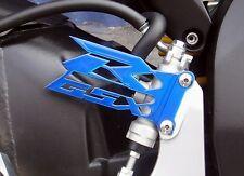 Suzuki  GSX-R  Candy BLUE Cut-Out Heel Guards / Plates  GSXR  600  750 1000