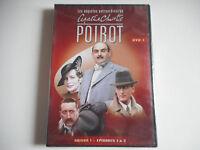 DVD NEUF - AGATHA CHRISTIE / POIROT DVD 1 / SAISON 1 / EPISODES 1 A 3 - ZONE 2