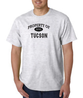 USA Made Bayside T-shirt Property Of Tucson City State