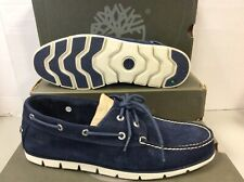 Timberland Tidelands Suede 2 Eye Boat Sneakers Mens Shoes A1HB2, UK 7 EUR 41