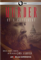 American Experience: Murder of a President (DVD, 2016)  Pres. Garfield   PBS NEW