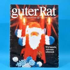 Guter Rat 4-1979 Verlag für die Frau DDR Jugendweihe Pentacon K 16 Goldhamster A