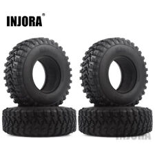"""1.9"""" Voodoo KLR Rubber Tire for 1:10 RC Axial SCX10 RC4WD D90 TF2 MST Tamiya"""