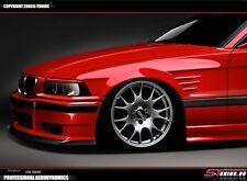 BMW E36 Coupe Satz Kotflügel links + rechts - GFK