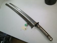 WW2 JAPANESE NCO OFFICERS SWORD MATCHING NUMBERS ON BLADE & SCABBARD #P41