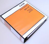 CASE 680E 680CK SERIES E LOADER BACKHOE SERVICE TECHNICAL MANUAL REPAIR SHOP