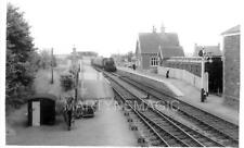 AB1 Real Railway Photograph Congressbury Station 1959