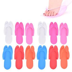 12 Pairs Disposable Foam Slippers Salon Spa Pedicure Sandals Foam SlipppAU