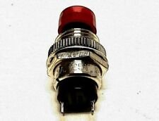 4pcs Momentary SPST-NO Red Cap Push Button Switch AC-250V/3A 2-Pins SB-4011NO