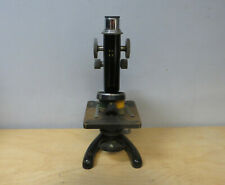 WORKING VINTAGE BECK LONDON MODEL 29 MICROSCOPE with CASE