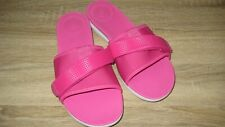 FitFlop NEOFLEX Ladies Summer Beach Pool Sliders Mules Sandals Pink Size 6.