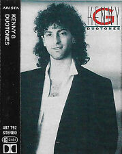 KENNY G DUOTONES CASSETTE ALBUM 1986 Jazz-Funk, Easy Listening ARISTA