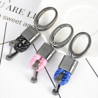 Keyring Lobster Clip Clasp Hook Key Chain Ring Car Bag Leather Keyfob Short Acc